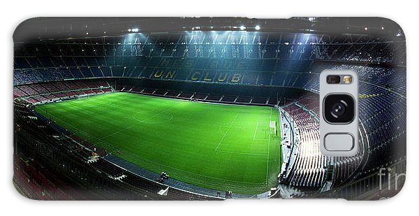 Camp Nou At Night Galaxy Case