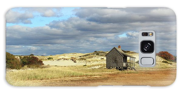 Camp On The Marsh And Dunes Galaxy Case by Roupen  Baker
