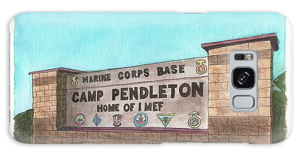 Camp Pendleton Welcome Galaxy Case