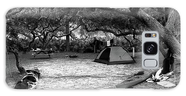 Camp Under Live Oaks Galaxy Case