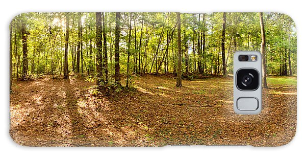 Campground Panoramic At Fdr State Park Galaxy Case