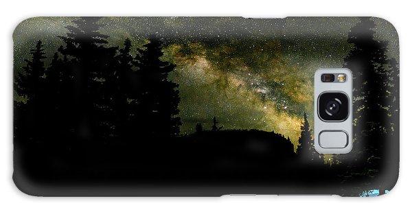 Camping Under The Milky Way 2 Galaxy Case