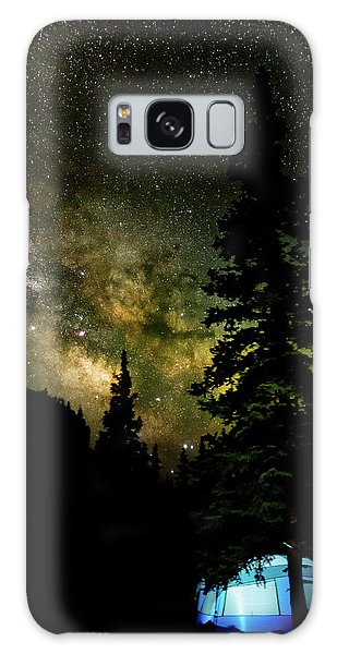 Camping Under The Milky Way Galaxy Case