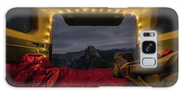 Camping Views Galaxy Case