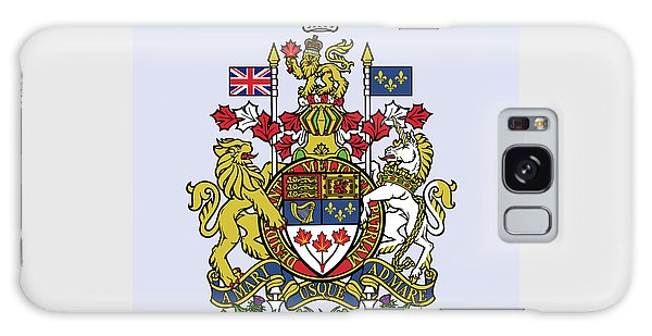 Canada Coat Of Arms Galaxy Case by Movie Poster Prints