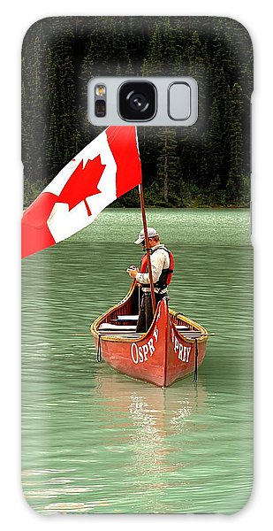 Galaxy Case featuring the photograph Canada Day... by Al Fritz