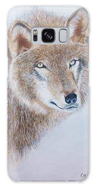 Canada Grey Wolf. Galaxy Case