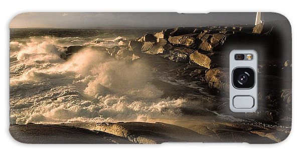 Canada Nova Scotia Peggy's Cove Galaxy Case