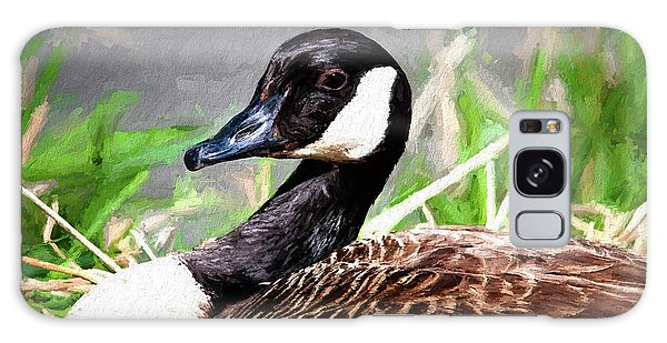 Canada Goose Galaxy Case - Canadian Goose by Tom Mc Nemar