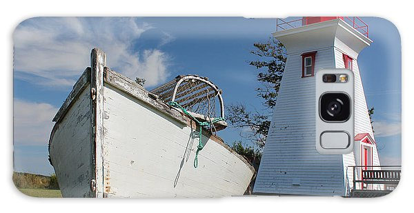 Canadian Maritimes Lighthouse Galaxy Case