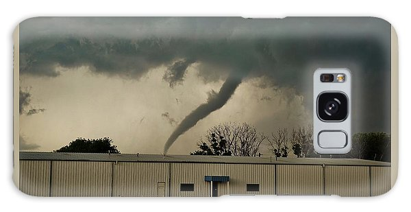 Canadian Tx Tornado Galaxy Case by Ed Sweeney