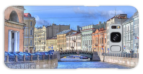 Canal In St. Petersburgh Russia Galaxy Case