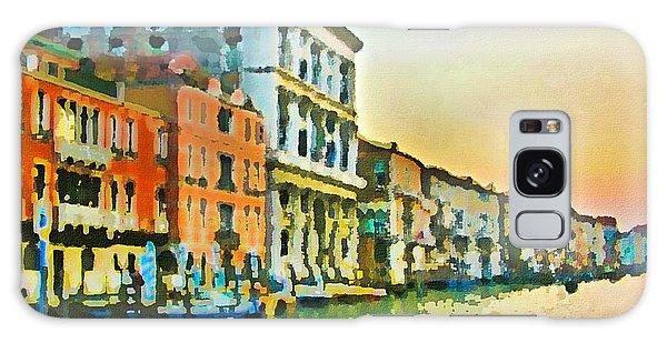 Canal Sunset - Venice Galaxy Case