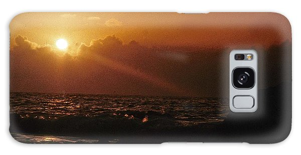Canary Islands Sunset Galaxy Case