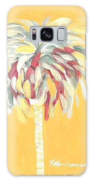 Canary Palm Tree Galaxy Case