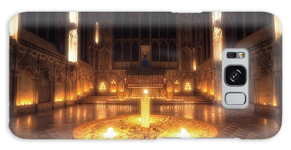 Galaxy Case featuring the photograph Candlemas - Lady Chapel by James Billings