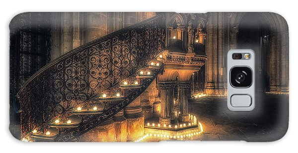 Galaxy Case featuring the photograph Candlemas - Pulpit by James Billings