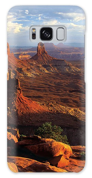 Islands In The Sky Galaxy Case - Candlestick Tower Sunset by Dan Norris