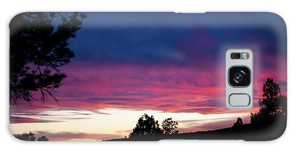 Candy-coated Clouds Galaxy Case