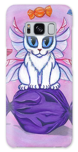 Candy Fairy Cat, Hard Candy Galaxy Case