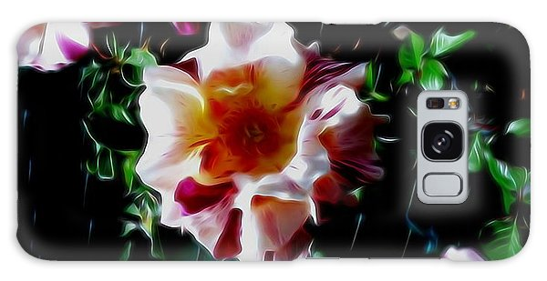 'candy Land' Rose In Abstract Galaxy Case