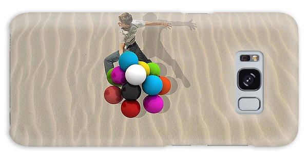 Candy Sand Galaxy Case