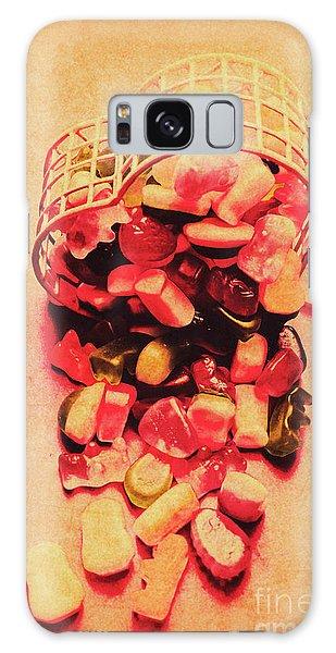 Heartache Galaxy Case - Candy Store Spills by Jorgo Photography - Wall Art Gallery