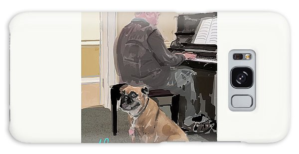 Canine Composition Galaxy Case