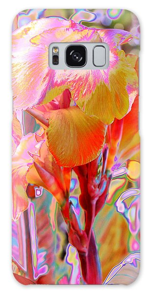 Canna Abstract 3 Galaxy Case by M Diane Bonaparte