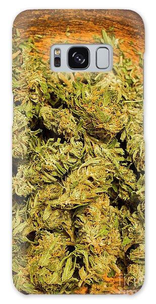 Herbs Galaxy Case - Cannabis Bowl by Jorgo Photography - Wall Art Gallery