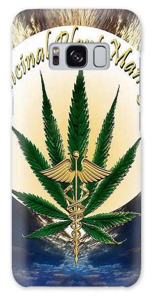 Cannabis Medicinal Plant Galaxy Case