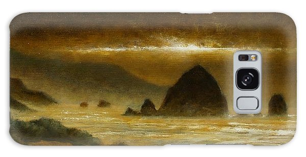 Galaxy Case - Cannon Beach Evening by Jim Gola