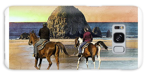 Cannon Beach Galaxy Case