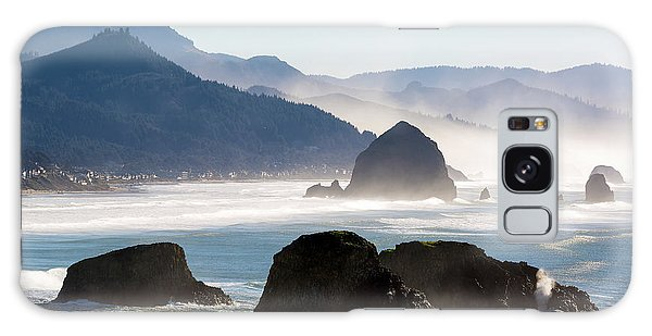 Cannon Beach On The Oregon Coast Galaxy Case
