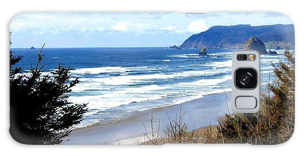 Cannon Beach Vista Galaxy Case