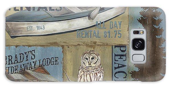 Mountain Lake Galaxy Case - Canoe Rentals Lodge by Debbie DeWitt