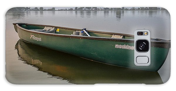Canoe Stillness Galaxy Case