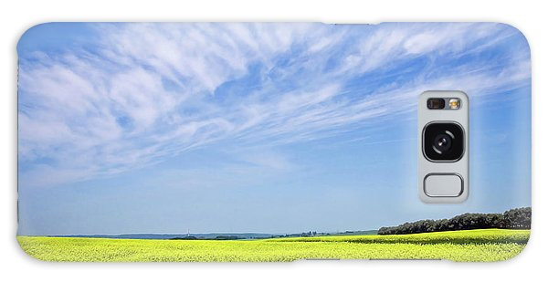Canola Blue Galaxy Case by Keith Armstrong