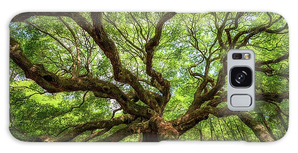 Canopy Of Color At Angel Oak Tree  Galaxy Case
