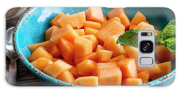 Cantaloupe For Breakfast Galaxy Case