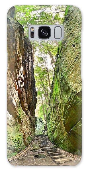 Cantwell Cliffs Trail Hocking Hills Ohio Galaxy Case