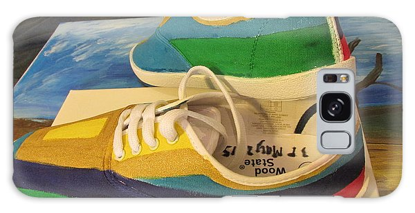 Canvas Shoe Art 003 Galaxy Case