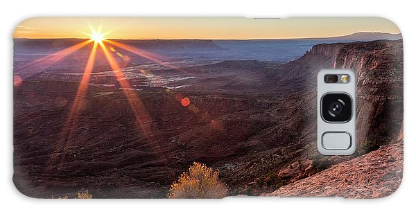 Canyon Country Sunrise Galaxy Case