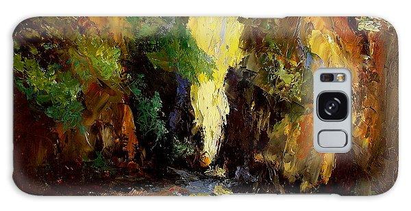 Canyon Creek Galaxy Case by Gail Kirtz