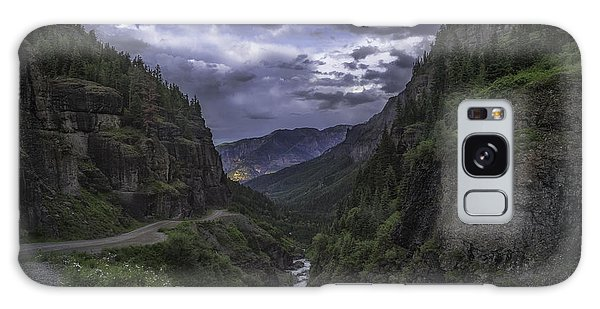 Canyon Creek Sunset Galaxy Case