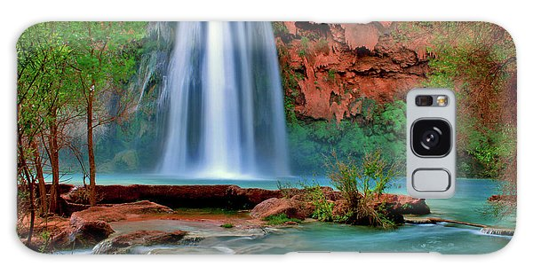 Canyon Falls Galaxy Case by Scott Mahon