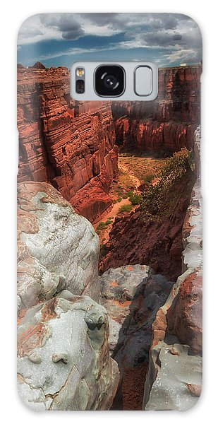 Canyon Lands Quartz Falls Overlook Galaxy Case by Gary Warnimont