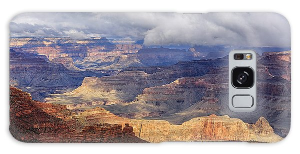 Galaxy Case featuring the photograph Canyon Layers by Beverly Parks