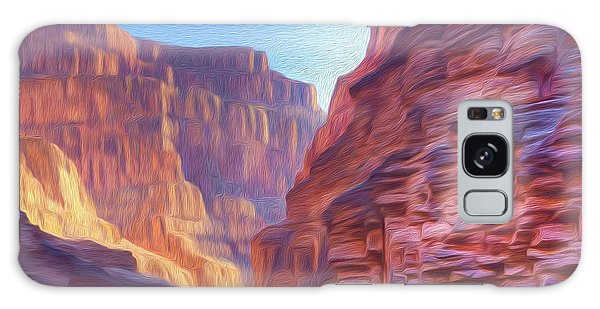 Canyon Light Galaxy Case by Walter Colvin
