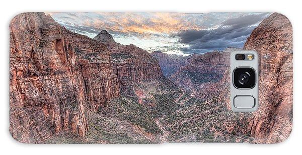 Canyon Overlook Galaxy Case